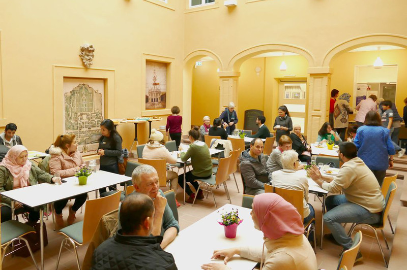 Café International im Rossi-Haus